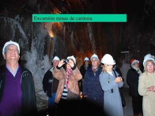 Excursión minas de cardona