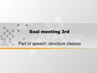 Soal meeting 3rd