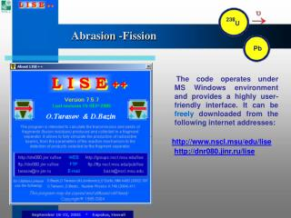 Abrasion -Fission