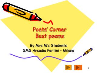 Poets' Corner Best poems