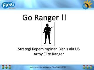 Go Ranger !!