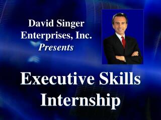 David Singer Enterprises, Inc.  Presents