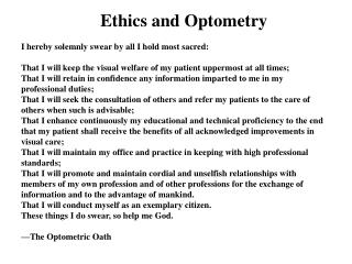 Evolution of AOA Codes of Ethics