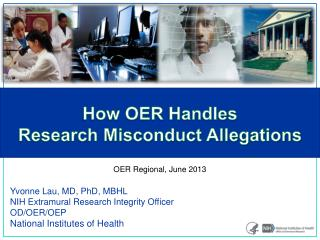 How OER Handles  Research Misconduct Allegations