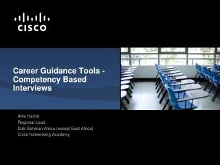 Career Guidance Tools - Competency Based Interviews
