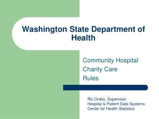 Washington State Department of Health