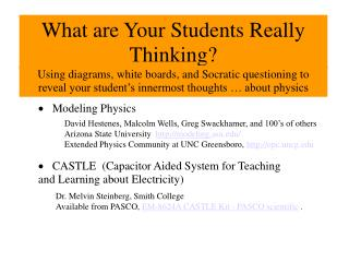 What are Your Students Really Thinking?