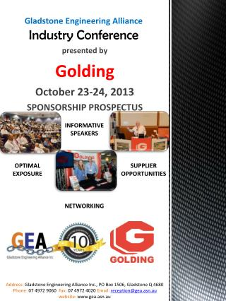 Gladstone Engineering Alliance Industry Conference