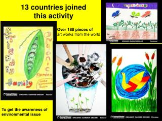 13 countries joined  this activity