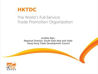 The World's Full-Service Trade Promotion Organization