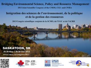 Intégration  des sciences de  l'environnement ,  de  la  politique et  de la  gestion  des  ressources