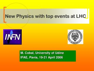 New Physics with top events at LHC