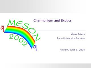 Charmonium and Exotics