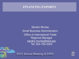 FINANCING EXPORTS
