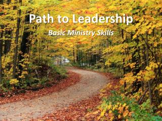 Path to Leadership
