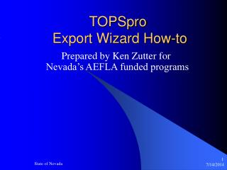 TOPSpro  Export Wizard How-to