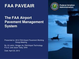 FAA PAVEAIR