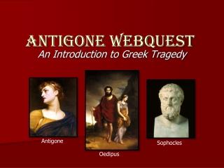 ANTIGONE WEBQUEST