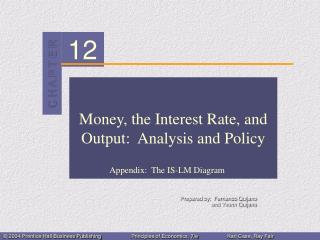 Money, the Interest Rate, and Output:  Analysis and Policy
