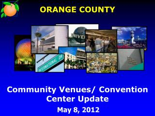 Community Venues/ Convention Center Update