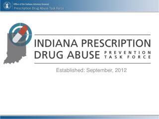 Established: September, 2012