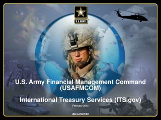 U.S. Army Financial Management Command (USAFMCOM) International Treasury Services (ITS.gov)