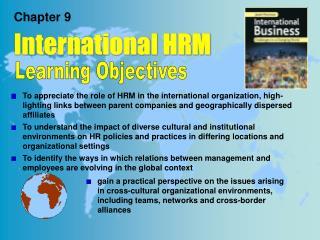 Chapter 9 International HRM