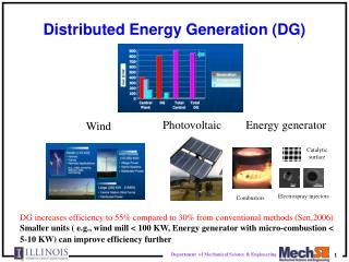 Distributed Energy Generation (DG)