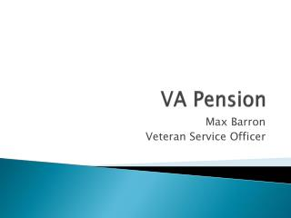 VA Pension