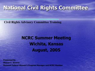 National Civil Rights Committee