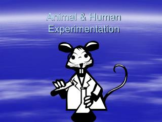 Animal & Human Experimentation