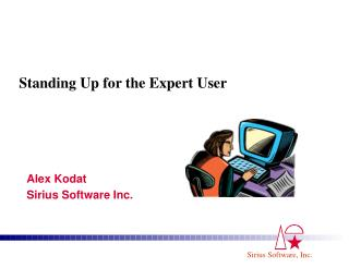 Standing Up for the Expert User
