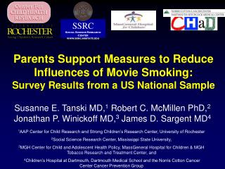 Parents Support Measures to Reduce Influences of Movie Smoking:   Survey Results from a US National Sample