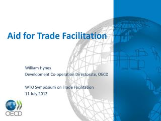 Aid for Trade Facilitation