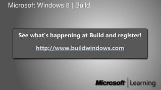 Microsoft  Windows 8   Build