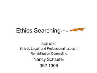 Ethics Searching