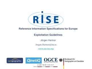 Reference Information Specifications for Europe Exploitation Guidelines