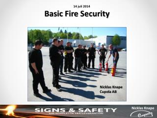 Basic  Fire Security