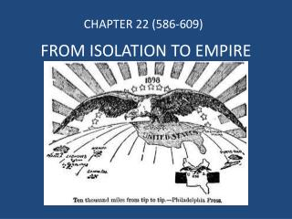FROM ISOLATION TO EMPIRE