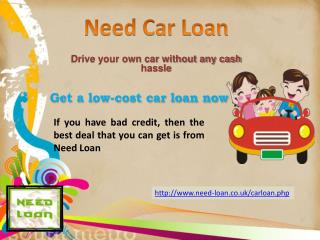 Get Low Interest Rates Car Loans