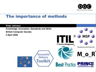The importance of methods