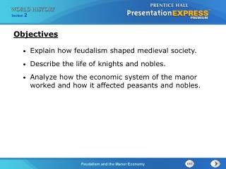 Explain how feudalism shaped medieval society. Describe the life of knights and nobles.
