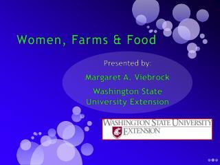 Women, Farms & Food