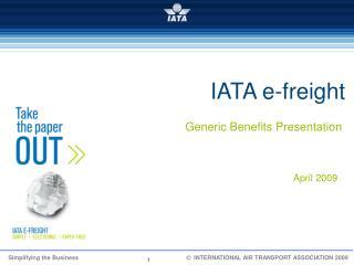 IATA e-freight