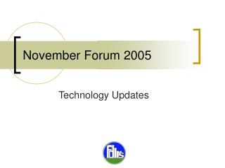 November Forum 2005