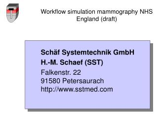 Workflow simulation mammography NHS England (draft)
