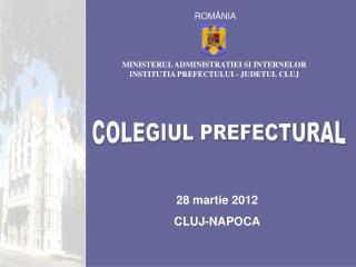 28 martie 2012 CLUJ-NAPOCA