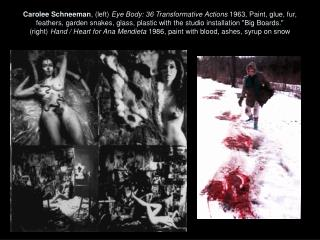 "Hannah Wilke ,  February 19, 1992 #6 Intra-Venus Series Wilke,  ""Marxism and Art: Beware of Fascist Feminism,""  1974-77"