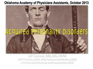 ACquired  Personality Disorders