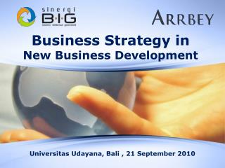 Business Strategy in New Business Development